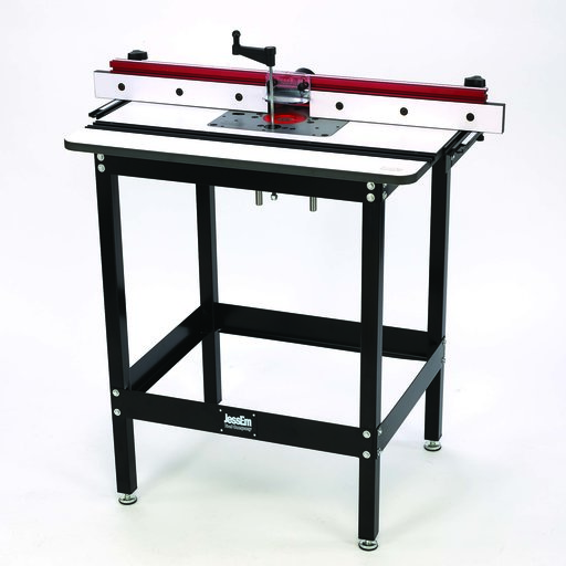 View a Larger Image of Rout-R-Lift II Included Router Table System With Phenolic Top