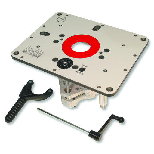 "View a Larger Image of Rout-R-Lift II Router Lift For 3-1/2"" Diameter Motors, # 02310"