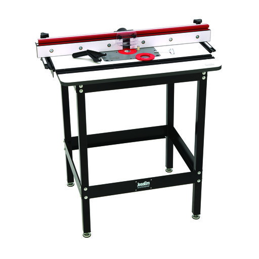 View a Larger Image of Rout-R-Plate Included Router Table System With Phenolic Top