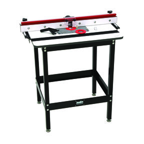 Rout-R-Plate Included Router Table System With Phenolic Top