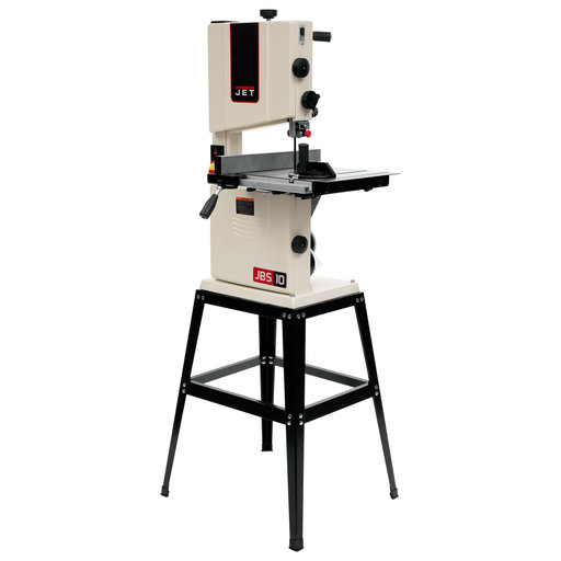"View a Larger Image of JWB-10 1/2HP 10"" Open Stand Bandsaw"
