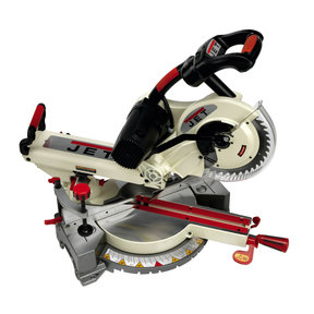 "10"" Sliding Dual Bevel Compound Miter Saw, Model JMS-10SCMS"