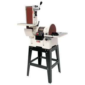 "6"" Belt, 12"" Disc Sander with Open Stand, Model JSG-6DCK"
