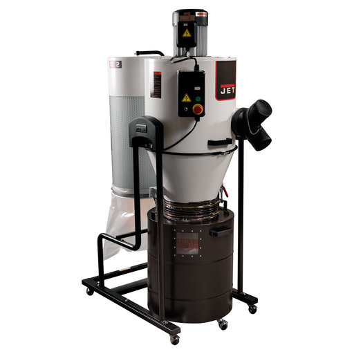 View a Larger Image of Cyclone Dust Collector, 2HP
