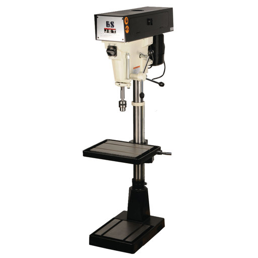 "View a Larger Image of 15"" 6 Speed Floor Model Drill Press 1PH, Model J-A3816"