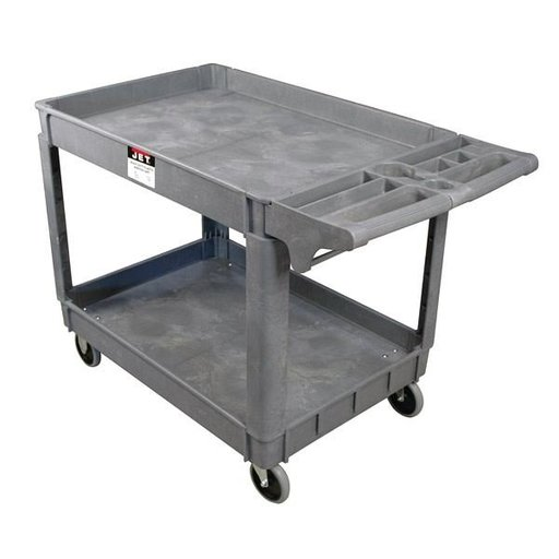 View a Larger Image of PUC-3117, Resin Utility Cart
