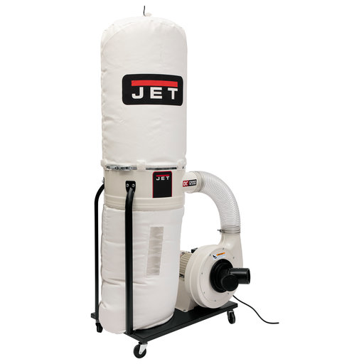 View a Larger Image of Vortex Cone Dust Collector, 2HP 1PH 230V, 30-Micron Bag Filter Kit, Model DC-1200VX-BK1
