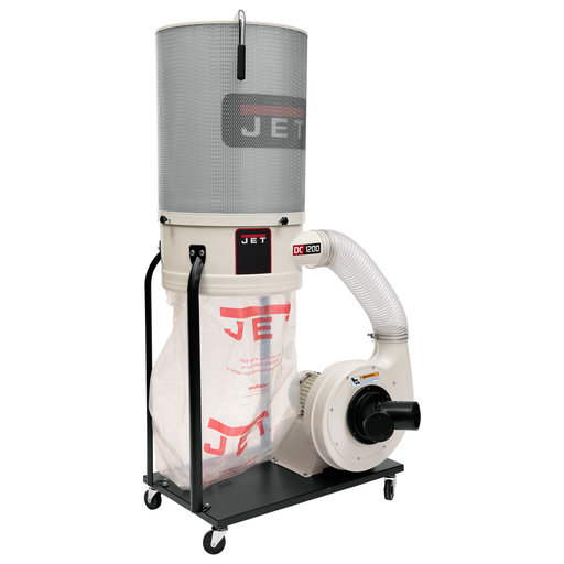 View a Larger Image of Vortex Cone Dust Collector, 2HP 3PH 230/460V, 2-Micron Canister Kit, Model DC-1200VX-CK3