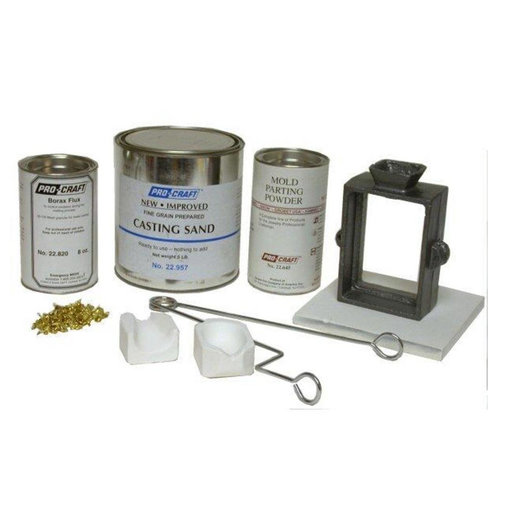 View a Larger Image of Jewelers Sand Casting Complete Kit