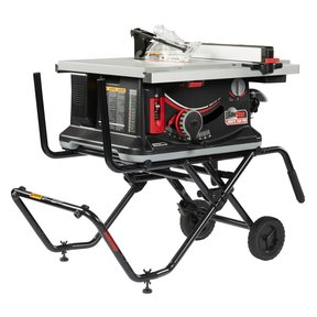 Jobsite Saw PRO with Mobile Cart Assembly