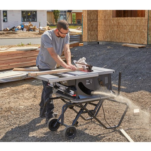 View a Larger Image of Jobsite Saw PRO with Mobile Cart Assembly