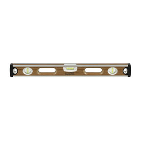 "24"" Eco-Tech Bamboo Level with Block Vials"