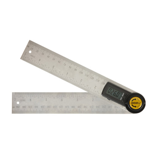 "View a Larger Image of 7"" Digital Angle Locator and Ruler"