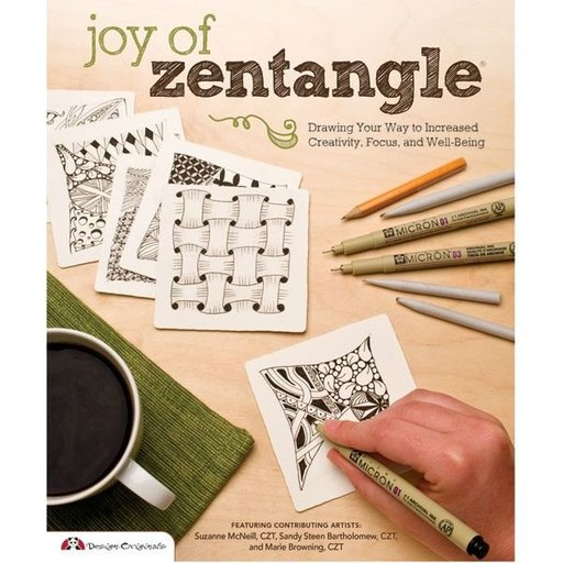 View a Larger Image of Joy of Zentangle