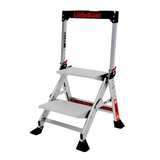 View a Larger Image of Jumbo 2-Step Ladder