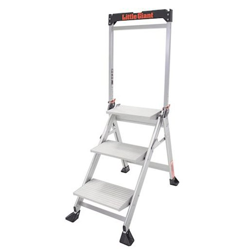 View a Larger Image of Jumbo 3-Step Ladder