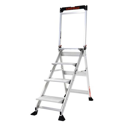 View a Larger Image of Jumbo 4-Step Ladder