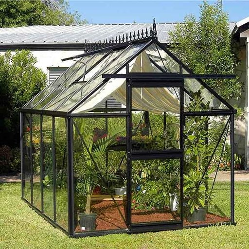 "View a Larger Image of Junior Victorian Greenhouse, 7'9"" x 10'6"""