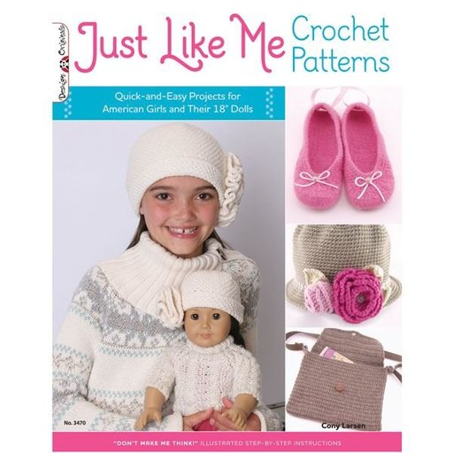 View a Larger Image of Just Like Me Crochet Patterns