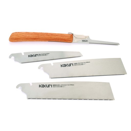View a Larger Image of Japanese Hand Saws, 5-Piece Set