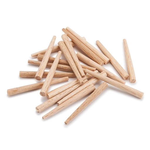 View a Larger Image of Kakuri Tapered Wooden Nails, Extra Small 20-piece