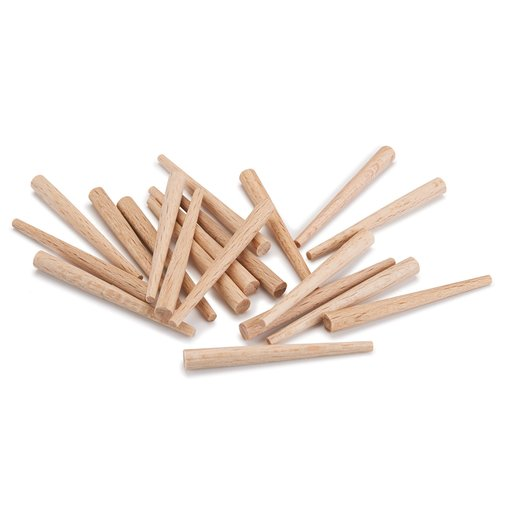 View a Larger Image of Kakuri Tapered Wooden Nails, Small 20-piece