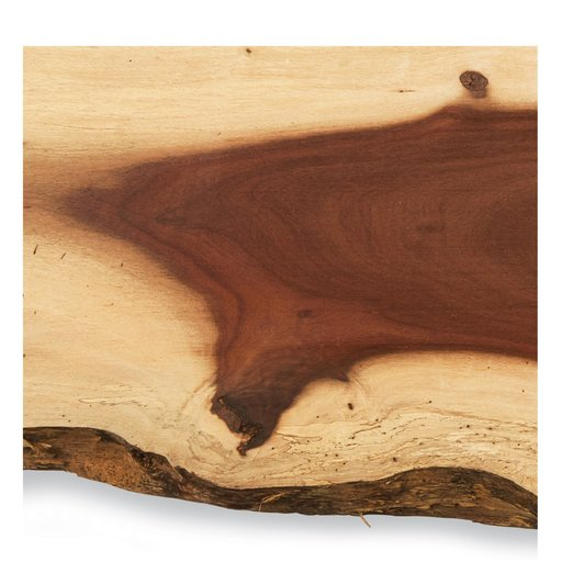 "View a Larger Image of Katalox Slab 62"" x 15"" x 1-1/2"""