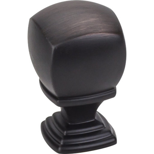 "View a Larger Image of Katharine Knob, 7/8"" O.L., Brushed Oil Rubbed Bronze"