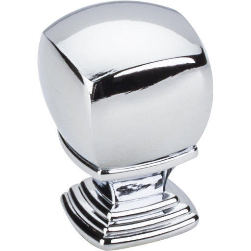 "View a Larger Image of  Katharine Large Knob 1"" O.L.,  Polished Chrome"