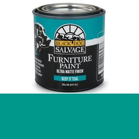 Keep It Teal' - Teal Furniture Paint, 1/2 Pint 236.6ml (8 fl. Oz.)