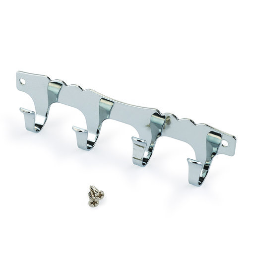 View a Larger Image of Key-Box 4-Hook Strip Nickel Plated