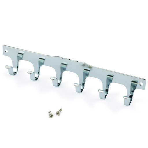 View a Larger Image of Key-Box 6-Hook Strip Nickel Plated