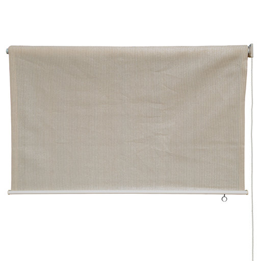 View a Larger Image of Exterior Sunshade, Silver Series, 6' W x 6' Drop, Monterey Fabric