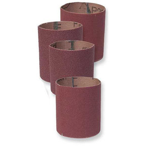 King Arthur Coarse Long Drum Sleeves, 80 Grit, 4 pack