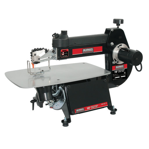 View a Larger Image of King Industrial 16 Inch Scroll Saw
