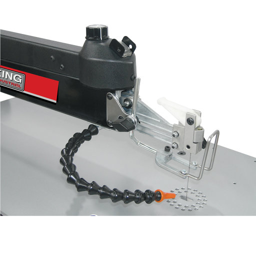 View a Larger Image of King Industrial 30 Inch Scroll Saw with Foot Switch