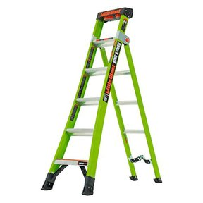 King Kombo Professional 6', 3-In-1 Combination Ladder