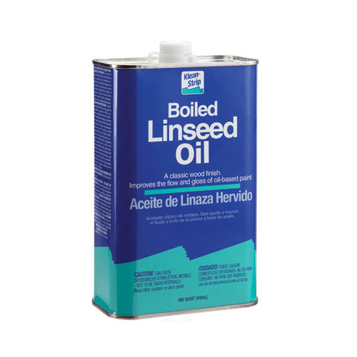 View a Larger Image of Oil Linseed Boiled Quart