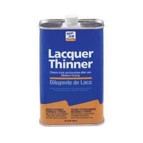 Solvent Lacquer Thinner Quart