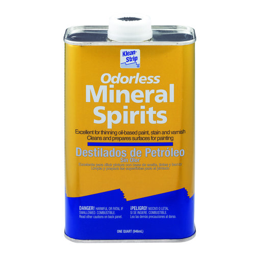 View a Larger Image of Mineral Spirits Quart