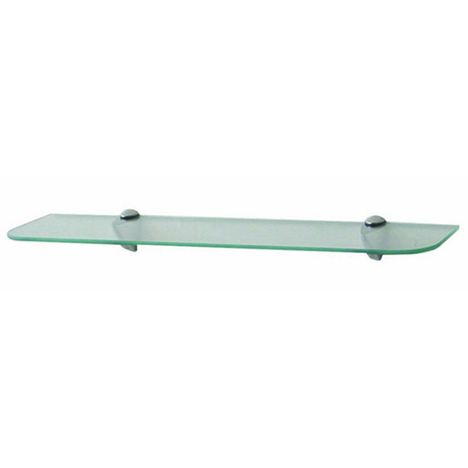 "View a Larger Image of Knape & Vogt 6"" x 24"" Glass Shelf Kit"