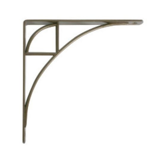 View a Larger Image of Knape & Vogt Oak Park Designer Shelf Bracket, Antique Bronze Finish