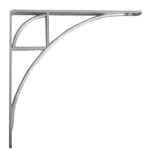 View a Larger Image of Knape & Vogt Oak Park Designer Shelf Bracket, Satin Nickel Finish