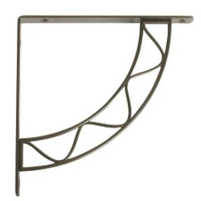 Knape & Vogt Stockton Designer Shelf Bracket, Antique Bronze Finish