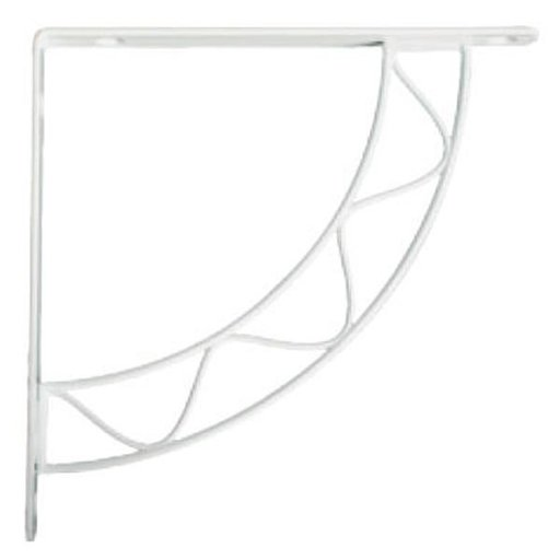 View a Larger Image of Knape & Vogt Stockton Designer Shelf Bracket, White Finish