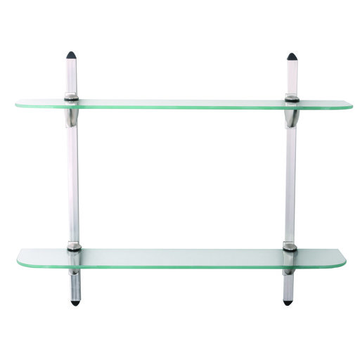 View a Larger Image of Knape & Vogt Two Tier Glass Shelf Kit