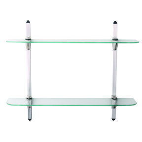 Knape & Vogt Two Tier Glass Shelf Kit