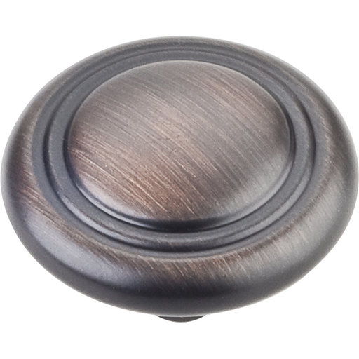 "View a Larger Image of Knobs 1-1/4"" Dia 10-pack, Brushed Oil Rubbed Bronze"