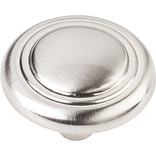 """View a Larger Image of Knobs  1-1/4"""" Dia 10-pack, Satin Nickel"""