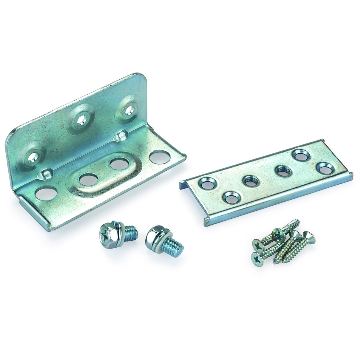 Surface-Mount Knock Down Low Profile Bed Frame Hardware
